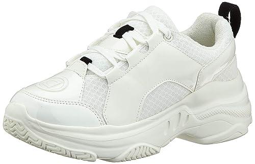 Desigual Sneaker Chunky White, Zapatillas de Deporte para Mujer ...