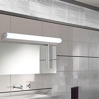 Spiegellampen- Edelstahl-LED-Spiegel-vordere Lichter Einfache ...