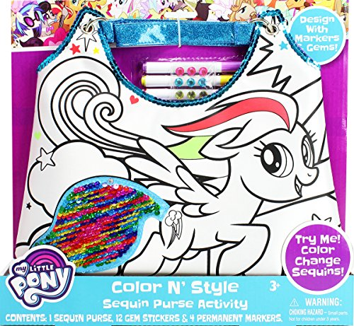 Color A Pony Purse - 2