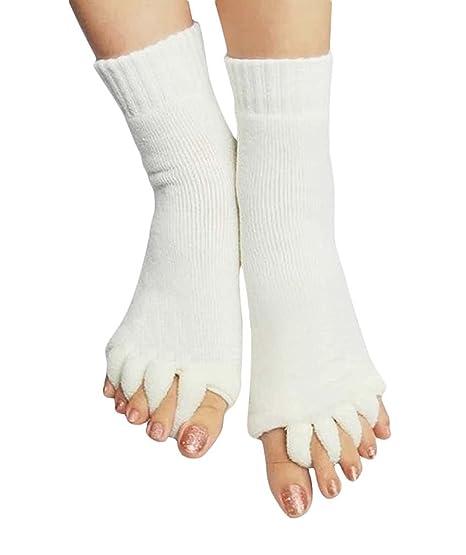 Amazon.com: niceeshop (TM) Lady algodón Comfy dedos de los ...