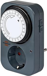 Brennenstuhl 24 h Timer MZ 20 - Temporizador con enchufe, negro