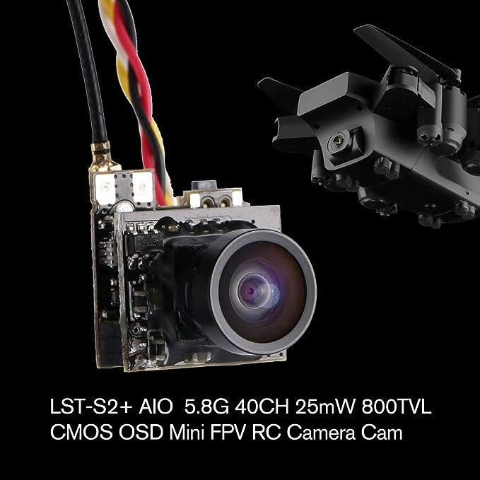 LST-S2 + AIO 800TVL CMOS Mini cámara FPV CAM Partes de Juguetes ...