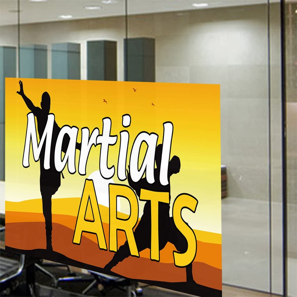 Decal Sticker Multiple Sizes Martial Arts #1 Style A Lifestyle Judo Outdoor Store Sign White Set of 5 27inx18in
