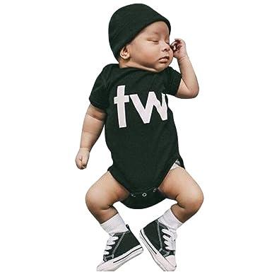 Amlaiworld Ropa Bebé Niño Niña Body para bebés recién Nacidos bebés niños niñas Traje de Mameluco Ropa de Trajes Bodies Peleles: Amazon.es: Ropa y ...