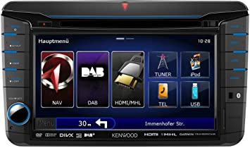 KENWOOD DNX525DAB Multimedia Receiver Mac