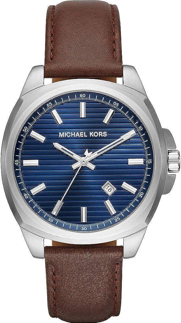 Michael Kors Reloj Analógico para Hombre de Cuarzo con Correa en Acero Inoxidable MK8631