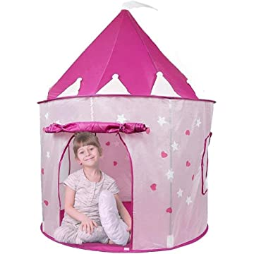 reliable Pockos Princess Castle Tent