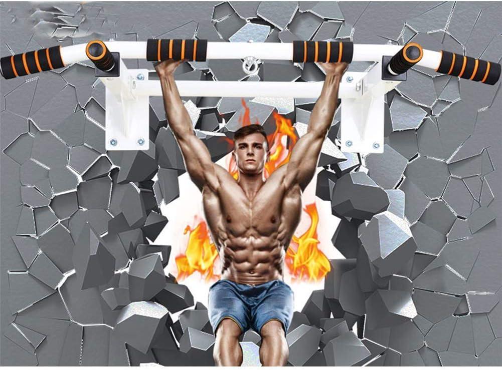 Tire hacia arriba tir/ón de la barra de pared m/áximo de carga de 200 kg montado en la pared levanta la barbilla barra horizontal Heavy Duty for la Formaci/ón de energ/ía de la fuerza muscular Fitness Wor