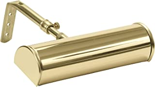 "product image for House of Troy ABLED7-61 Advent Battery Operated Led Picture Light, 7"", Polished Brass"