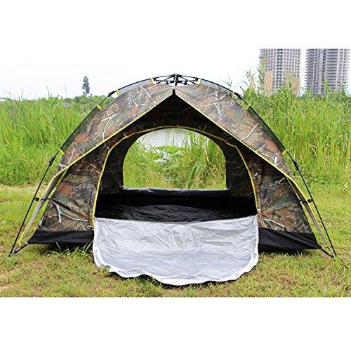 MCCOutdoor-camping Zelt 4 Personen automatische Zelt 6 Pol Pol