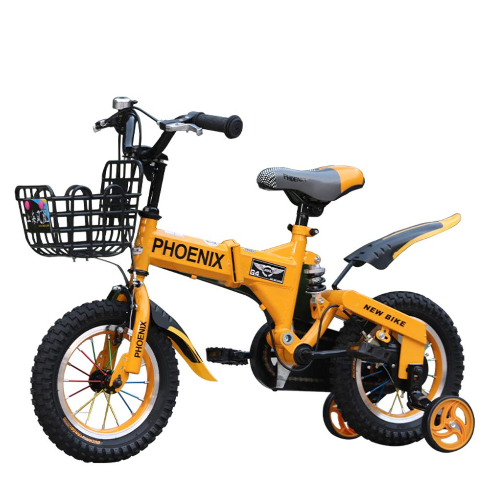 Bicicletas Niña 2-10 años Cochecito bebé Bici-Amarillo 14inch