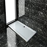 Rectangular 1400x700x40mm Shower Tray for Shower Enclosure Cubicle+Free Waste Trap NEXT DAY DELIVERY by sunny showers,ultra