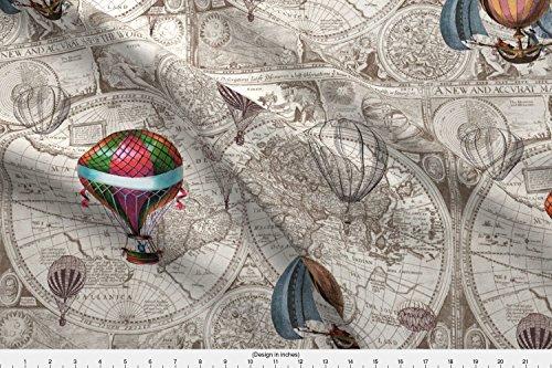 hot air balloon fabric - 4