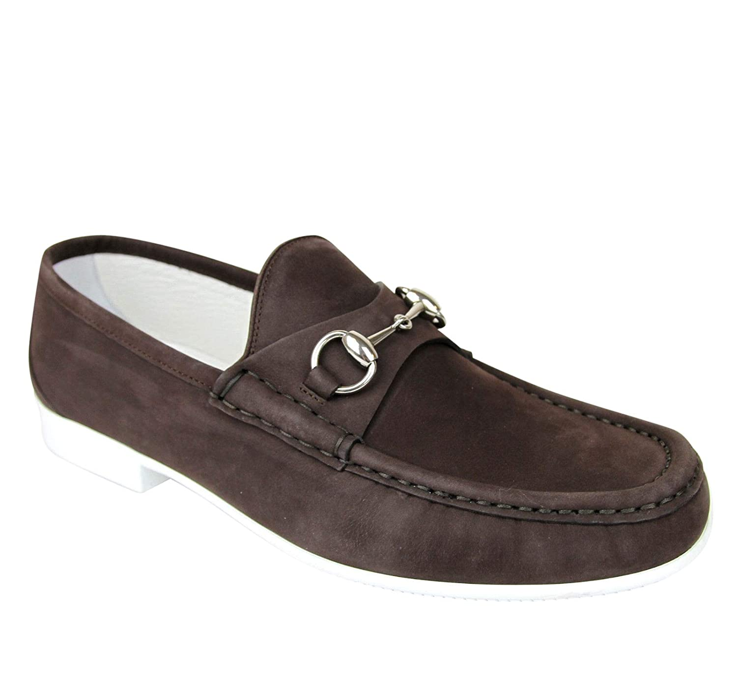 c6b10c785a5 Amazon.com  Gucci Moccasin Suede Horsebit Loafer 337060 BHO00  Shoes
