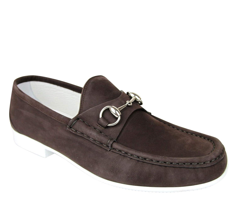 97d96f6e5e2 Amazon.com  Gucci Moccasin Suede Horsebit Loafer 337060 BHO00  Shoes