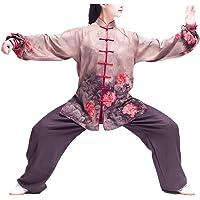KIKIGOAL Transpirable Seda Unisex Chino Tradicional Tai Chi