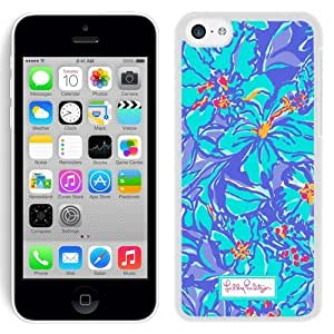 Lovely Lilly Pulitzer 10 iPhone 5c 5th Generation White Cell Phone Case