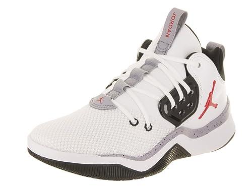 Zapatillas Jordan – DNA Bg Blanco/Rojo/Negro Talla: 37,5