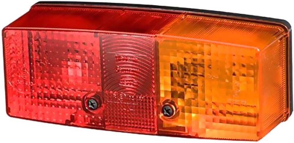 Hella Dreikammerleuchte//Schluss-Brems-Blinkleuchte Rechts rot//gelb 2SD 003184041