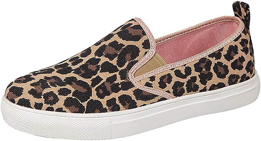 Peigen Women Leopard Print Shoes,Ladies