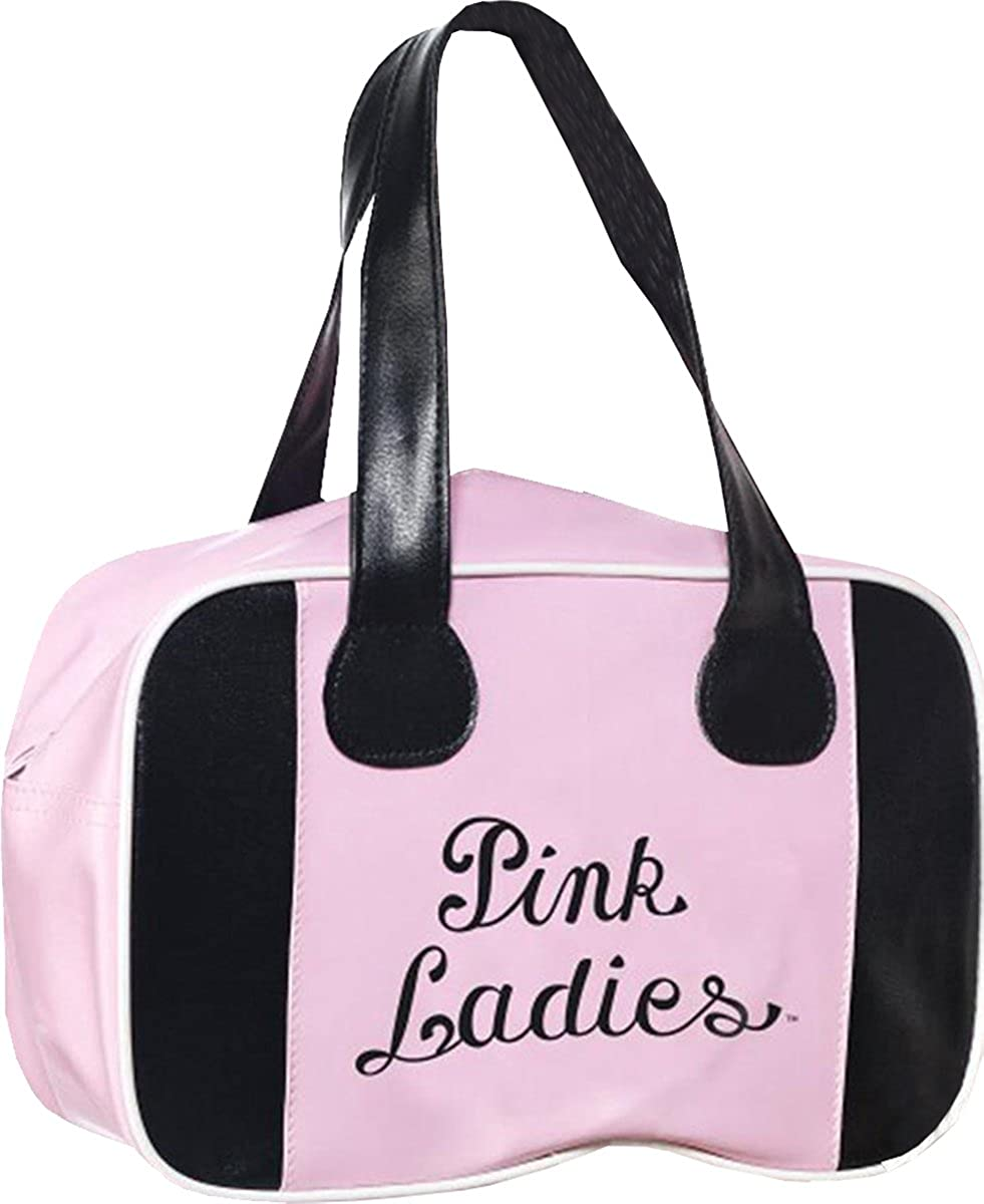 8f219b0063e Ladies Film & Tv Grease Licensed Fancy Party Lady Bowling Bag With ...