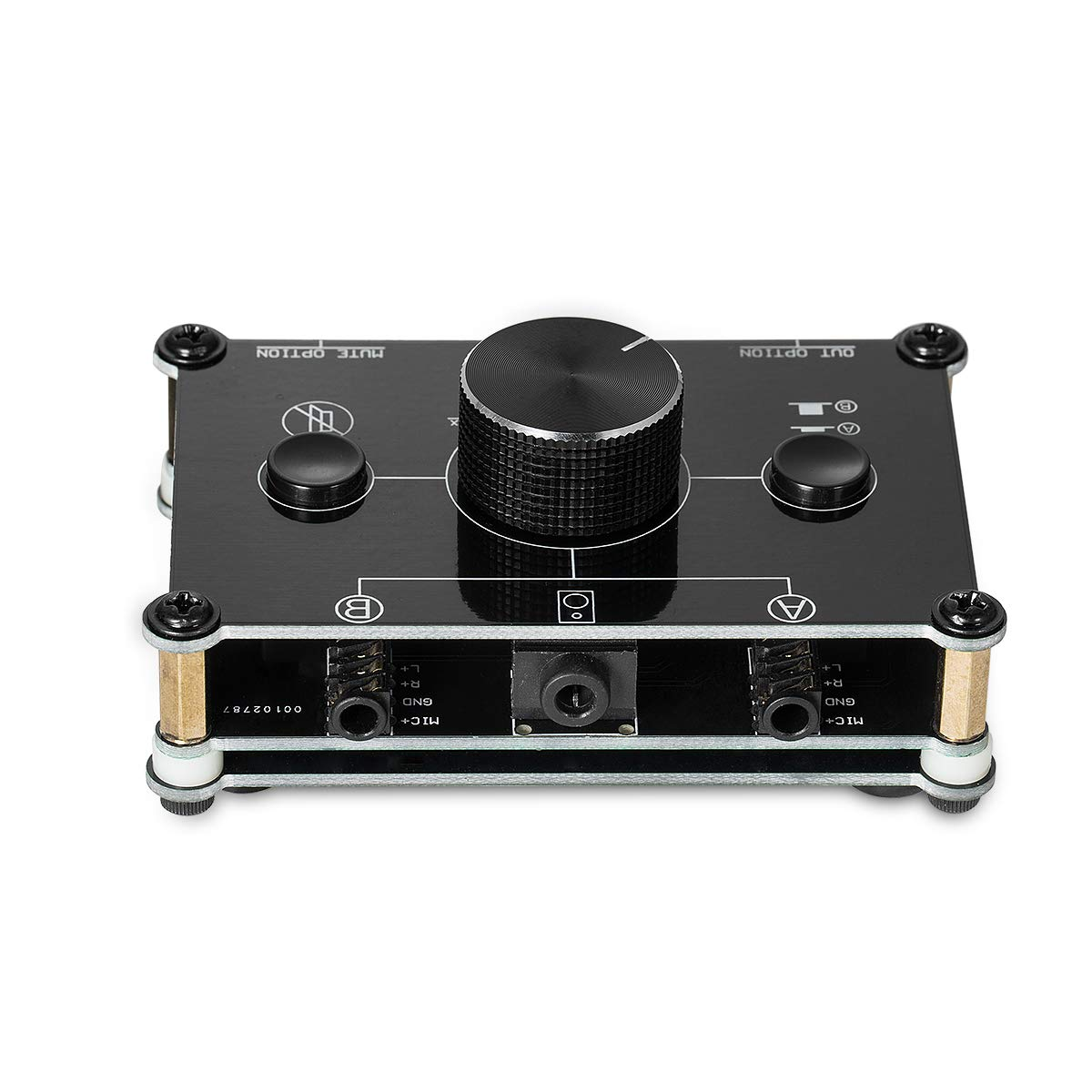 Nobsound Little Bear MC22 Mini 2-IN-2-OUT 3.5mm Stereo Audio ...