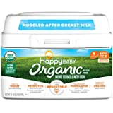 Happy Baby Organic Infant Formula Milk Based Powder with Iron Stage 1, 21 Ounce