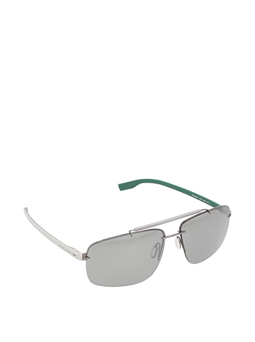 db238f71c Amazon.com: Hugo Boss sunglasses BOSS 0608/S 6LA3C Metal Gun - Grey ...