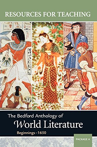 The Bedford Anthology of World Literature, Package a (Resources for Teaching) by Associate Professor Paul Davis (2003-01-05)