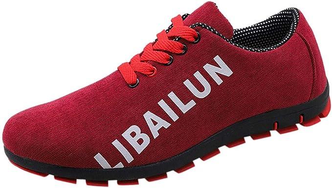 ZODOF calzado deportivo Moda zapatos deportivos hombre Malla ...