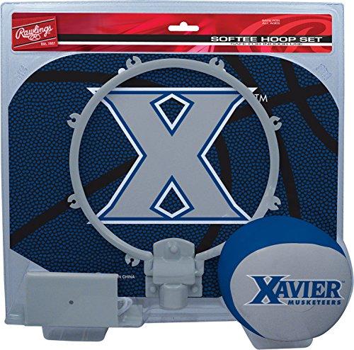 NCAA Xavier Musketeers Kids Slam Dunk Hoop Set, Blue, Small