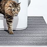 Modkat Litter Mat - Large and XL Sizes, Traps Litter, Modern Design, Soft on Paws, Phthalate Free