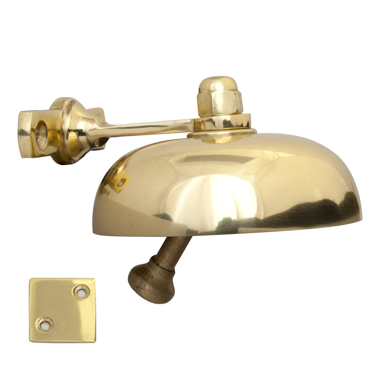 Traditional Solid Brass Shop Door Bell