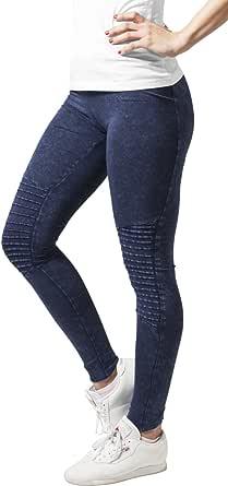 Urban Classics Leggings Denim Jersey Deporte para Mujer