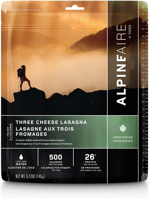 AlpineAire Three Cheese Lasagna