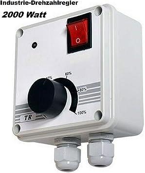 La Industria regulador de velocidad de rotación de 2000 W ...