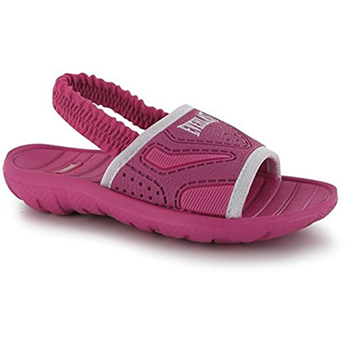 a99dfbe10af0 Everlast Kids Infants Pool Shoes Beach Water Slip On Summer Flip Flops  Pink White UK C6  Amazon.co.uk  Clothing