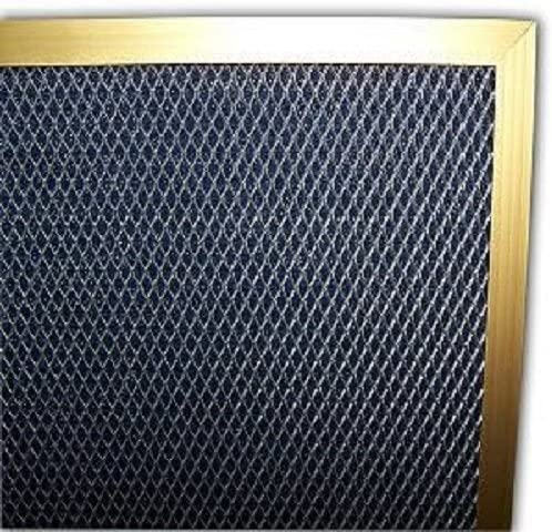 25x25x1 Electrostatic AC Furnace Air Filter Gold 94/% Arrestance. Never Buy a New Filter