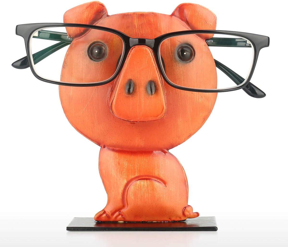 Brillenhalter Tierf/örmige Brillenst/änder Fesjoy Tooart Schweinf/örmige Brillengestell