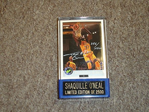 1992 Classic Shaquille O'Neal Limited Edition Signed Promo Basketball Card-NM/MT - Unsigned Basketball Cards