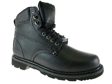 4617dd7b2b4 Eagle Men's 623 Full Leather Heavy Duty Safty Work Boots Oil Resistant Sole