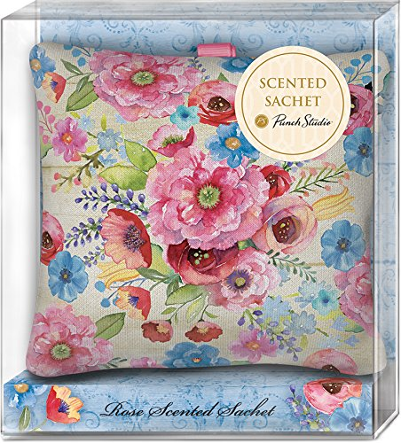 Punch Studio Rose Scented Fabric Pillow Sachets (45984) by Punch Studio (Image #1)