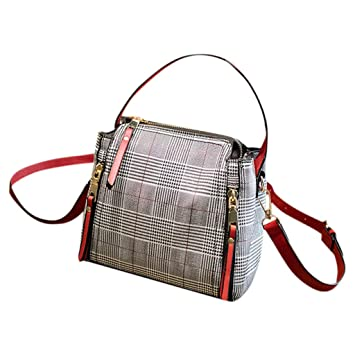 6ffe1ede11b6 Amazon.com : Women Messenger Bags, Freesa Women's Simple Fashion ...