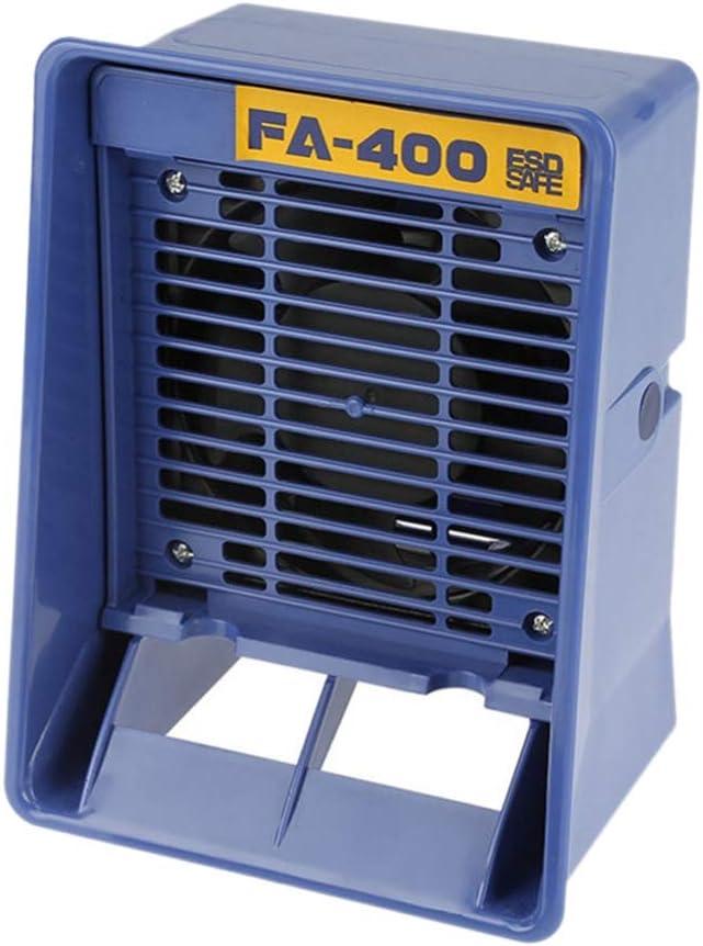 TOOGOO 220V Fa-400 Absorbente De Humo De Hierro De Soldadura Extractor De Humo Esd Instrumento De Fumar