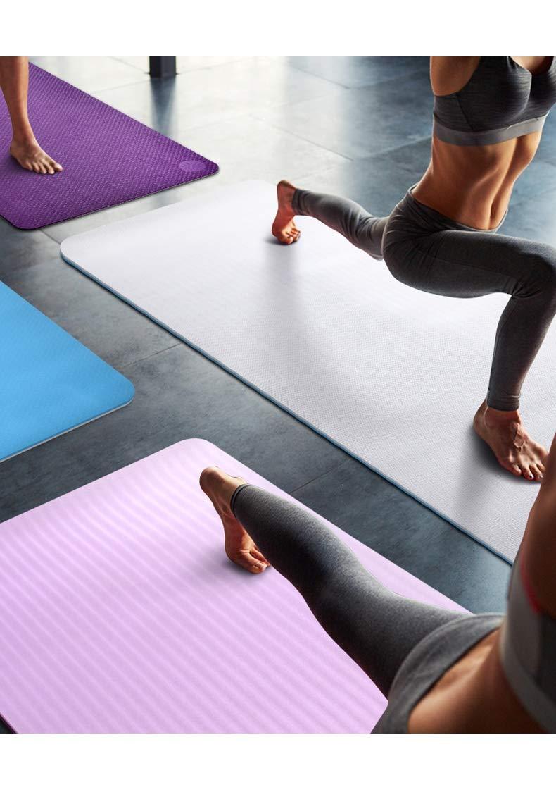 HJQPXD Yoga Mat, Ancho y Grueso Antideslizante Textura ...