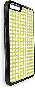 ايفون 7 بلس بتصميم زخرفة مربعات صفراء