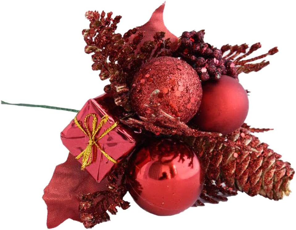 50Pack Fruit Berry Artificial Flower Home Christmas Tree Ornaments ...