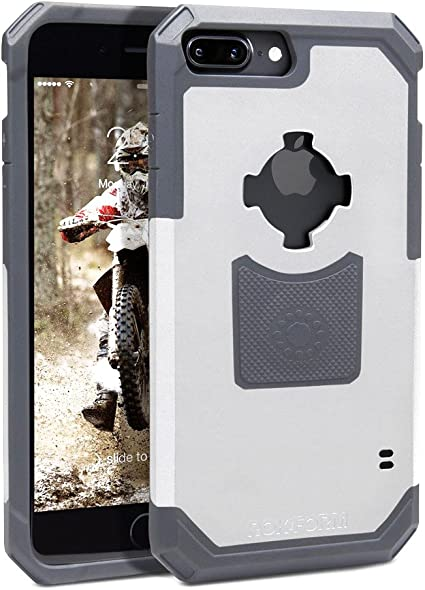 Rokform Rugged Series Military Grade Magnetic Protective Phone Case with twist lock /& Universal Car Vent Mount for iPhone 8 /& 7 White
