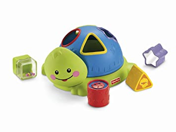 Amazon.com: Forma de Tortuga Fisher-Price Friendly Firsts ...
