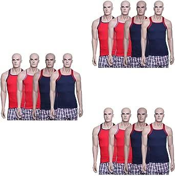 John Gladstone Multi Color Under Shirt For Men